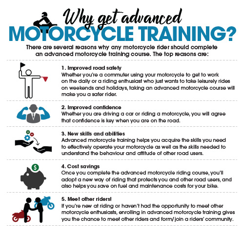 Why Get Advanced Motorcycle Training