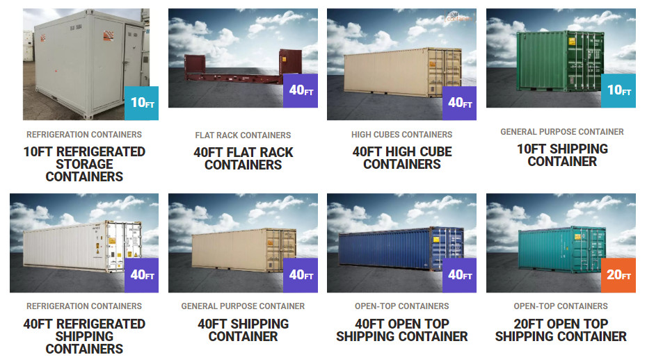 shipping containers for sale or hire