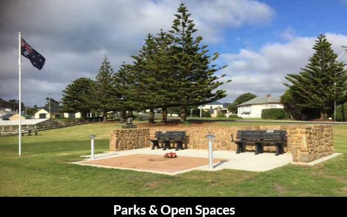 solar bollards for parks and open spaces